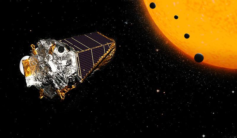 Kepler sem combustível e prestes a mergulhar para o abismo infinito