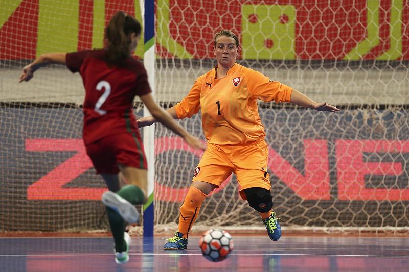Portugal goleia checas no arranque da corrida ao Europeu feminino de futsal 2b33d0ceaabcb