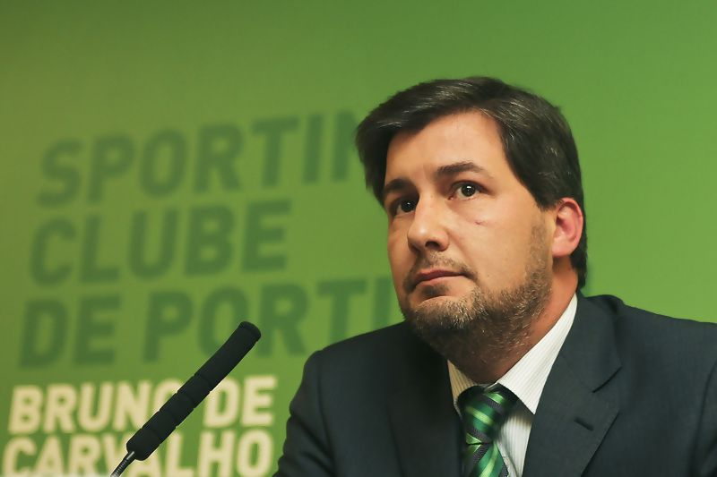 Bruno Carvalho Sporting • Presidente do Sporting • JOAO RELVAS/LUSA