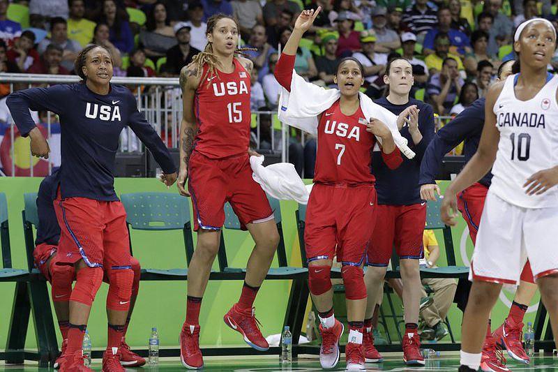 EUA bate Canadá 81-51 e domina no basquetebol feminino - Jogos ... b68d2f56cbed4