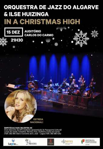 Orquestra Jazz Algarve & Ilse- In A Christmas High