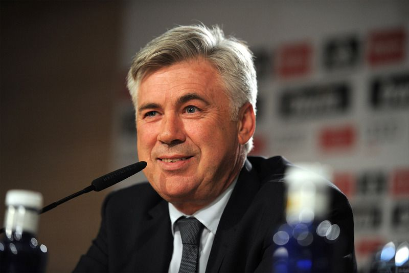 Carlo Ancelotti • 2013 Getty Images