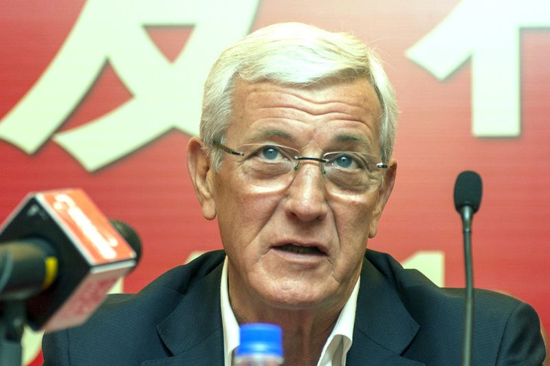 Marcello Lippi • STR / AFP
