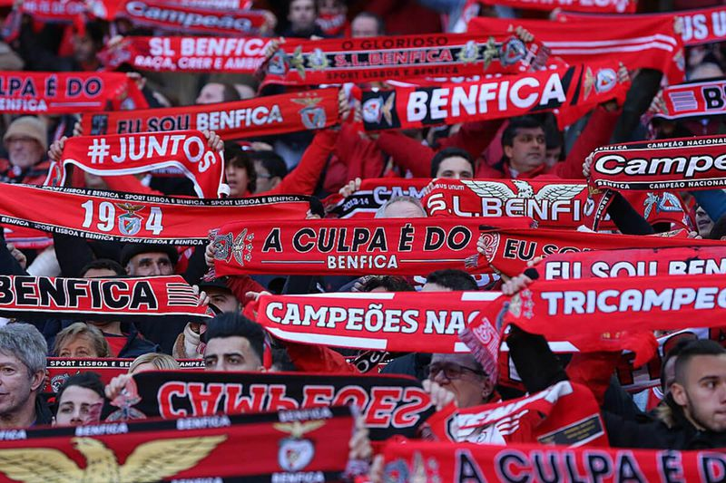 Adeptos do Benfica • DR