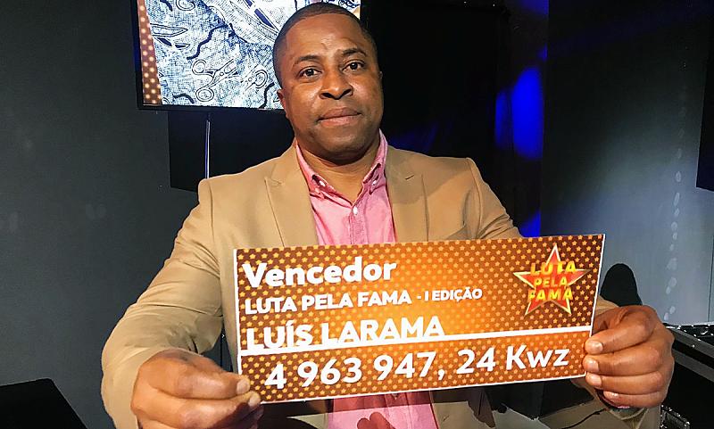 Larama conquista quase 5 milhões de kwanzas em novo reality show