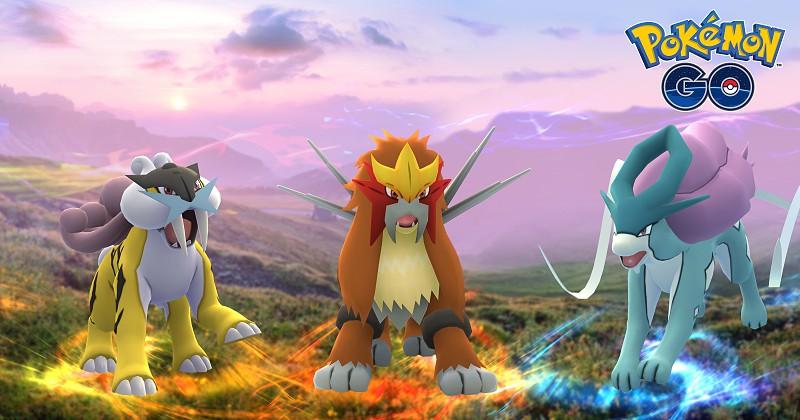 pokémon go estão a chegar os três cães lendários apps sapo tek