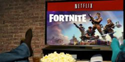 o rival do netflix e o fortnite refere a plataforma em reuniao de - casa de papel fortnite
