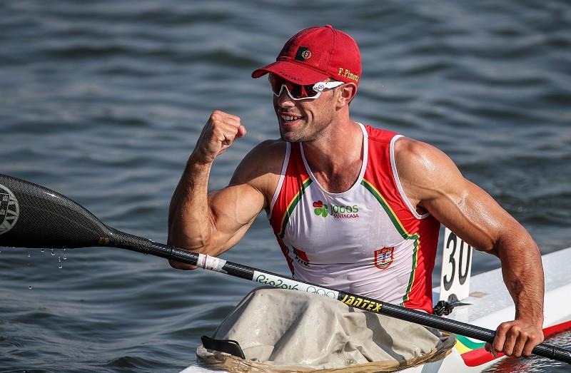 Resultado de imagem para Canoagem: Fernando Pimenta conquista duas medalhas de ouro na Taça do Mundo