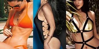 f8828b3192abe Os fatos de banho já usados pelo clã Kardashian-Jenner