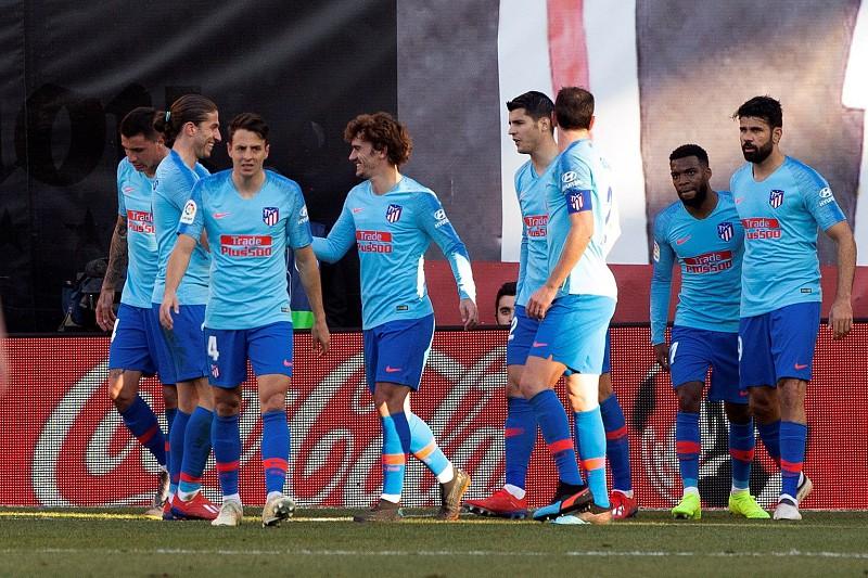 Griezmann dá vitória sofrida ao Atlético de Madrid na visita ao Rayo de Bebé 4c5bd3d3552db