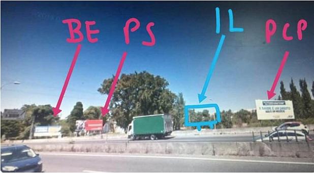 Infraestruturas de Portugal desmantelou ilegalmente um cartaz do partido Iniciativa Liberal?