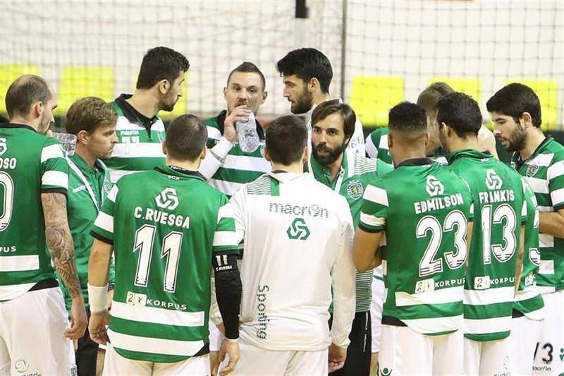 Equipa de andebol do Sporting • Equipa de andebol do Sporting. • Sporting C. Portugal