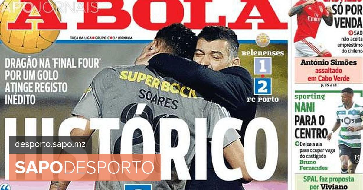 Revista de imprensa  Histórico FC Porto e Cristiano Ronaldo nas últimas  manchetes de 2018 - Futebol - SAPO Desporto 150ee2be56ebd