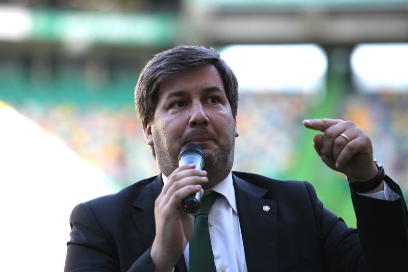 Bruno Carvalho • Presidente do Sporting • GASPAR CASTRO / SAPO Desporto