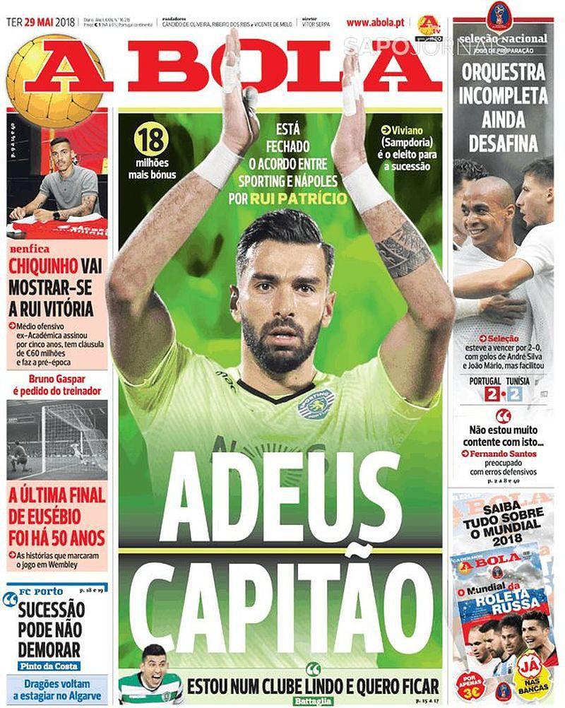 Revista de imprensa  O adeus do capitão 1a8a0e2ee78e6