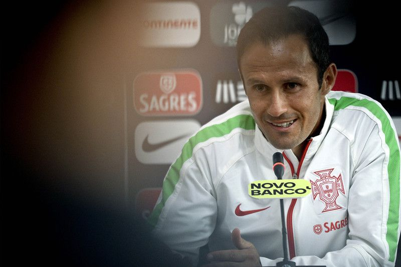 Portugal's National soccer press conference • Portugal's national soccer team's player Ricardo Carvalho attends to a press conference in view of the upcoming match against Armenia at Tbilisi Stadium, Georgia, 09 June 2015. Portugal will face Armenia in the UEFA EURO 2016 qualifying soccer match on 13 June 2015. HUGO DELGADO/LUSA • Lusa