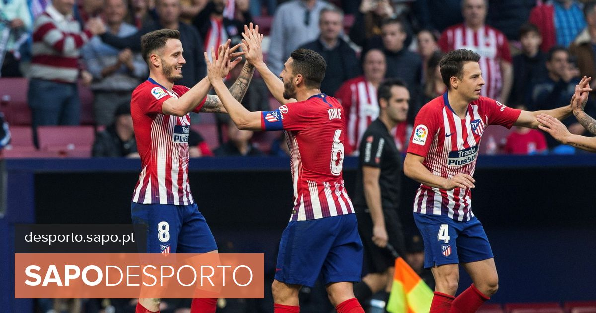 Atlético de Madrid vence e mantém diferença de sete pontos para o líder  Barcelona - La Liga - SAPO Desporto cbb17ae40181b