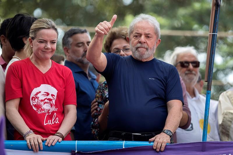 PT reafirma Lula como candidato a Presidente e transfere provisoriamente sede para Curitiba
