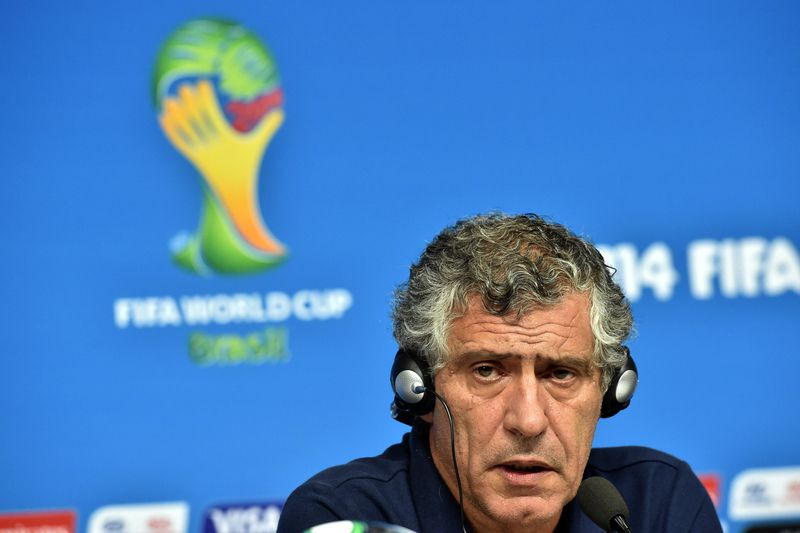 Fernando Santos • ARIS MESSINIS / AFP