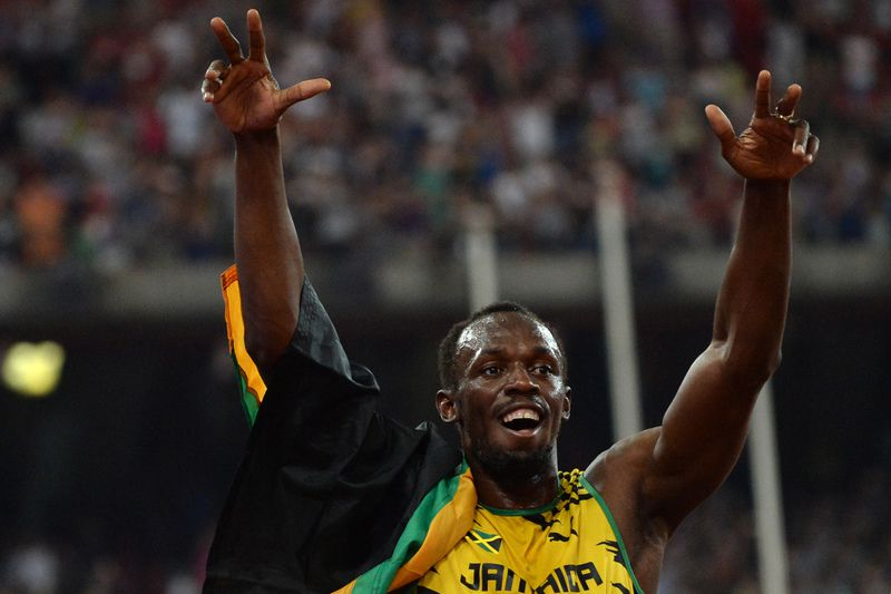 Usain Bolt • WANG ZHAO / AFP