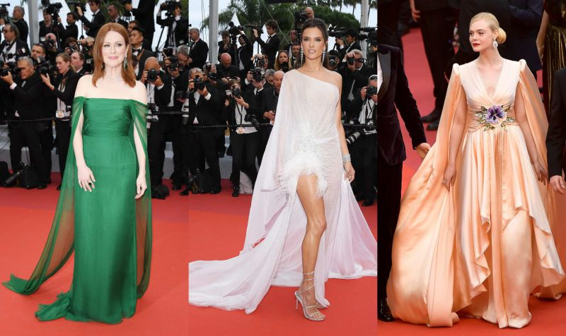 Os primeiros looks do Festival de Cannes