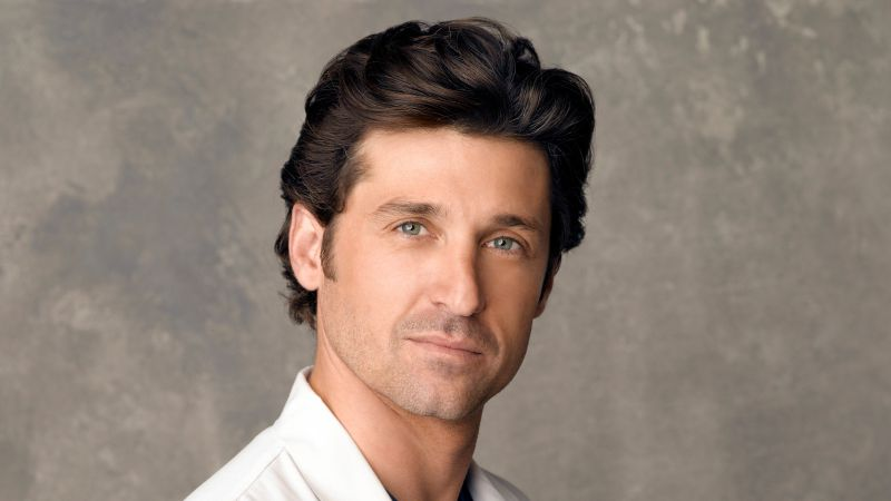 GREY'S ANATOMY - Patrick Dempsey stars as Derek Shepherd on the ABC Television Network's