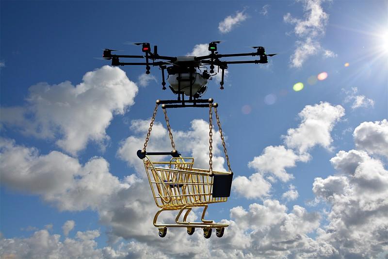Uber planeia lançar as entregas de comida por drones em 2021
