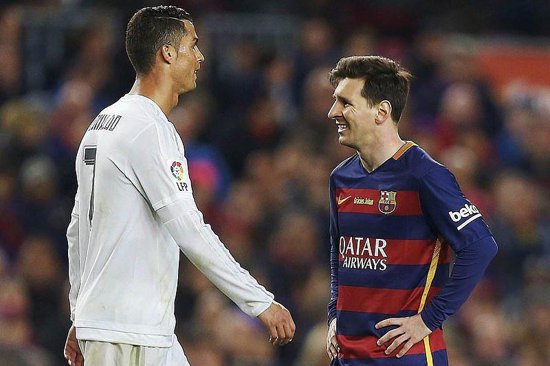 40fcac14345 Barcelona renova com Qatar Airways Cristiano Ronaldo e Lionel Messi ...