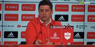 b9d317888322a Rui Vitória não quer focar-se no passado para analisar o presente do  Benfica. Questionado se poderia tirar proveito da experiência da época  passada em que ...