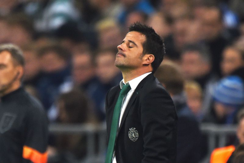 Marco Silva • Treinador do Sporting • AFP