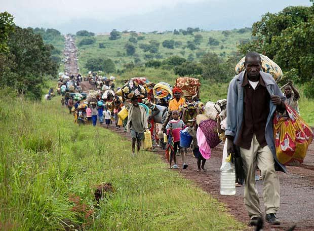 Refugiados em Angola queixam-se de