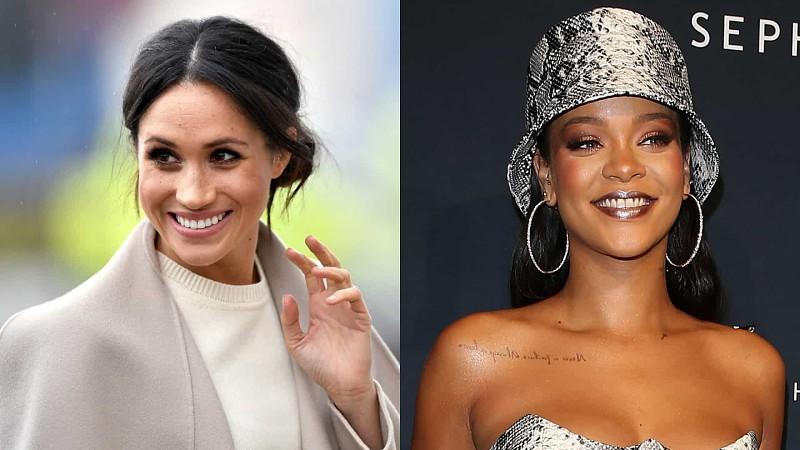 Sabia que Meghan Markle e Rihanna são muito amigas?