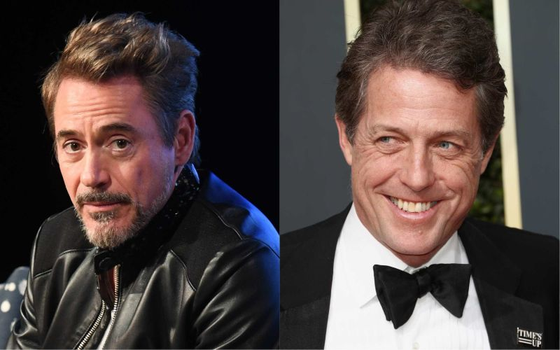 Robert Downey Jr. está disposto a fazer as pazes com Hugh Grant