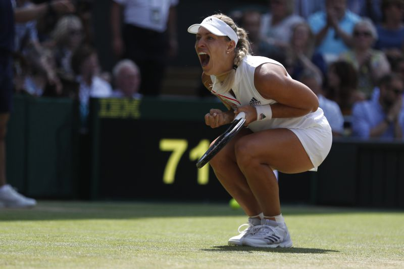 Angelique Kerber na final de Wimbledon