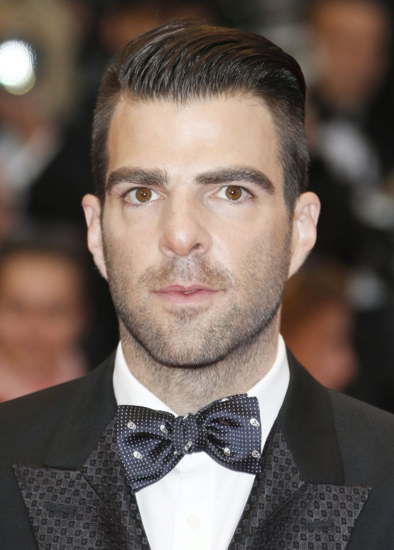 epa03712253 US actor Zachary Quinto arrives for the screening of 'All Is Lost' during the 66th annual Cannes Film Festival in Cannes, France, 22 May 2013. The movie is presented out of competition at the festival which runs from 15 to 26 May.  EPA/GUILLAUME HORCAJUELO