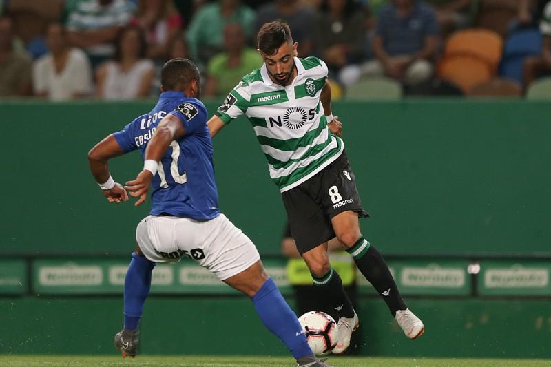 Sporting Feirense: Sporting Em Vantagem Ao Intervalo. Feirense Teve Golo