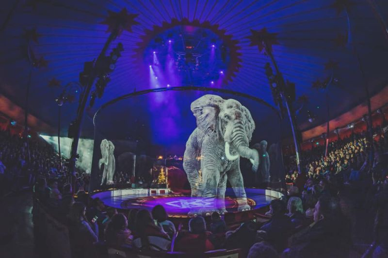 Este circo substituiu animais por hologramas e o resultado é surpreendente