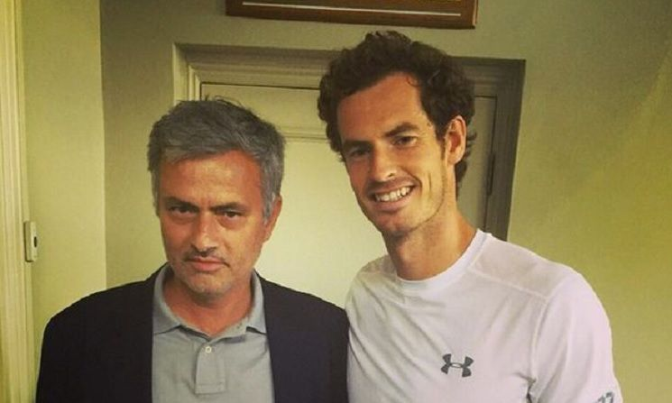 Andy Murray recorda gesto de Mourinho:
