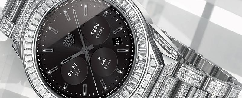 "2172bbd3c7a Tag Heuer renova smartwatches e ""crava"" topo de gama de diamantes ..."