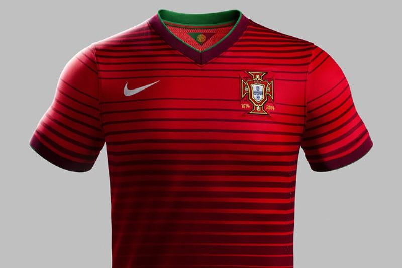 d10073d23779e Nova camisola celebra os 100 anos da FPF - Mundial 2014 - SAPO Desporto