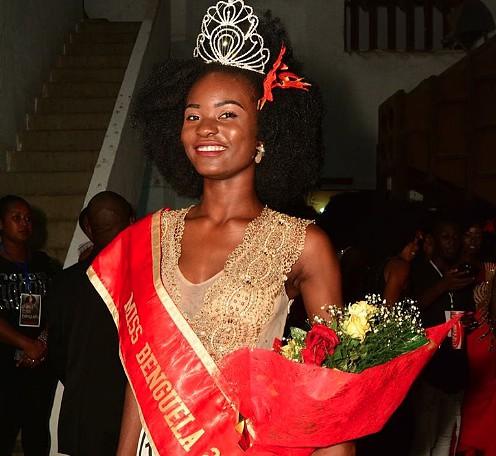 Paula Ngaça eleita Miss Benguela 2018