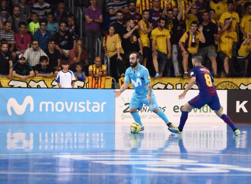 Futsal: Ricardinho marca no triunfo do Inter Movistar que se qualificou para as meias da Taça do Rei