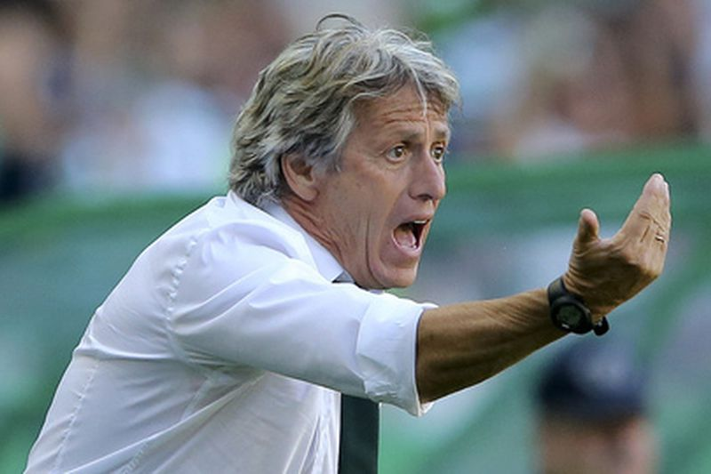 Jesus • Sporting Lisbon head coach, Jorge Jesus, during the Portuguese First League soccer match with FC Porto held at Alvalade Stadium, Lisbon, Portugal, 28th August 2016.  MANUEL DE ALMEIDA/LUSA