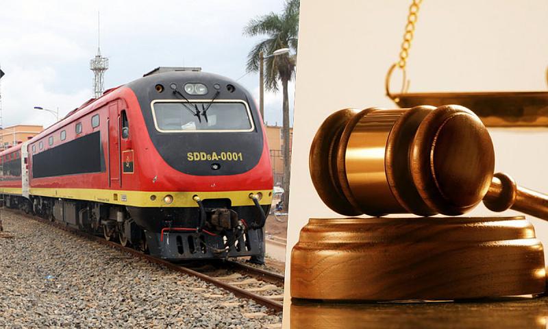 Dez trabalhadores grevistas do Caminho-de-ferro de Luanda condenados em tribunal