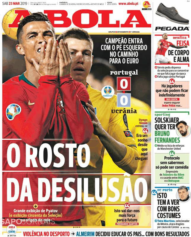 Португалия – Украина. Обзор португальских СМИ - изображение 1