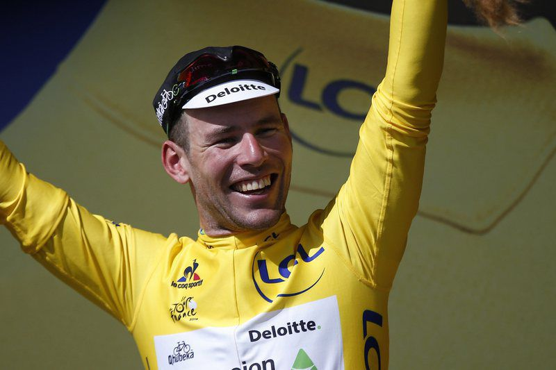 Mark Cavendish • Lusa