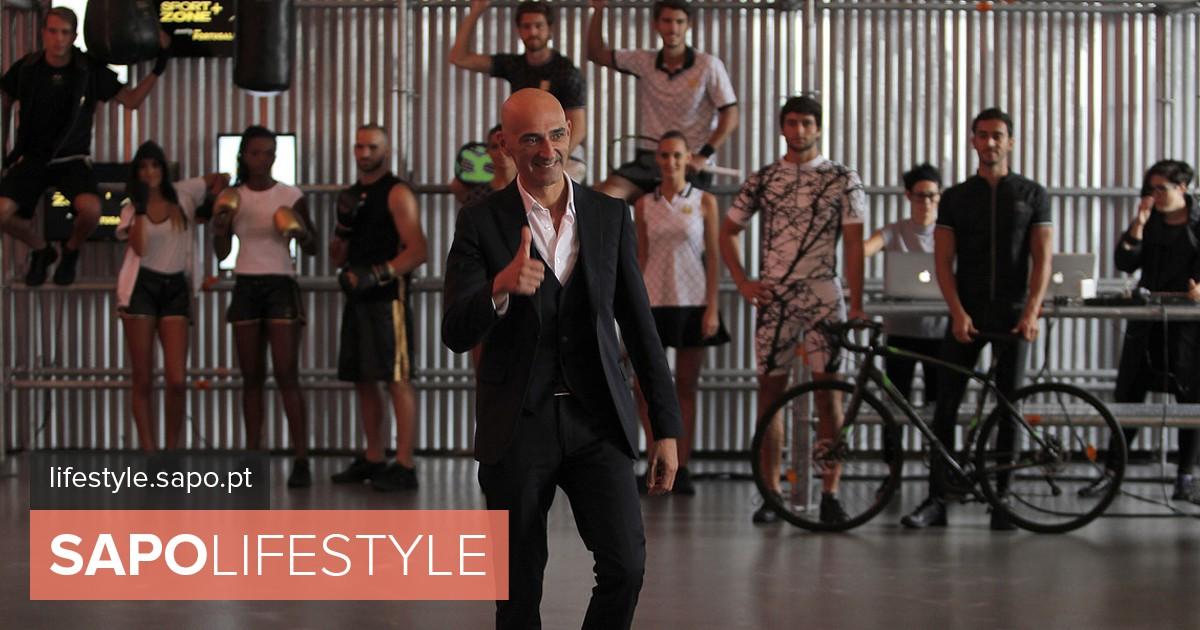 0c5392b4be Miguel Vieira assina linha de sportswear da Sport Zone - Atualidade - SAPO  Lifestyle