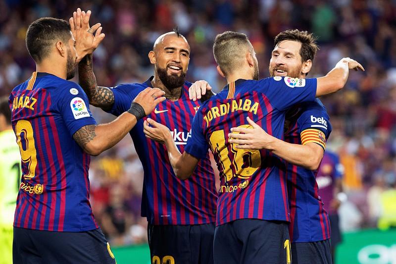 La Liga  Possibilidade de jogar nos Estados Unidos será decidida pelos  jogadores Barcelona ea244009d950f