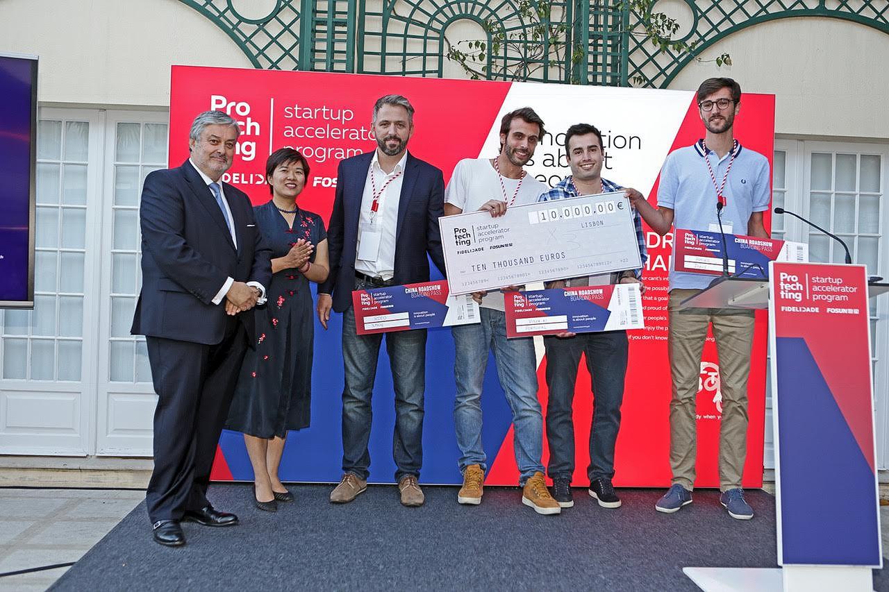 Fidelidade e Fosun levam três startups à China. Uma delas é portuguesa