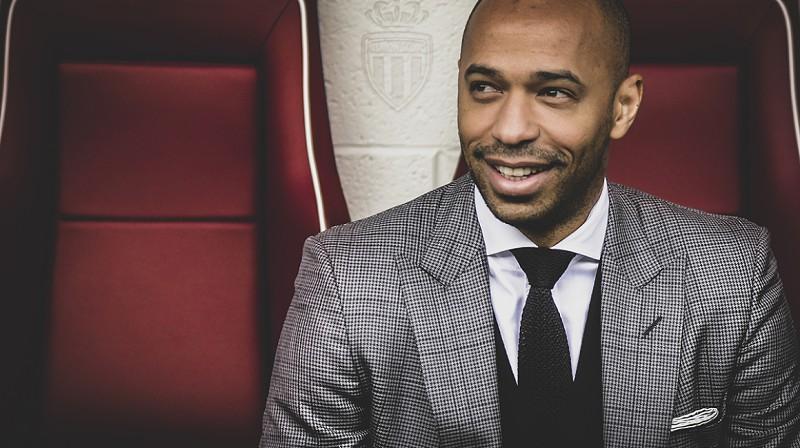 3515bac798 Oficial  Thierry Henry é o novo treinador do Mónaco e ´rouba  João Tralhão